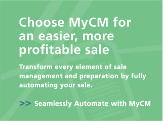 Choose MyCM for an easier, more profitable sale - Transform every element of sale management and preparation by fully automating your sale.